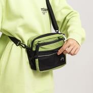 Stüssy Ripstop Nylon Shoulder Bag zelená / černá