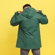 Thrasher Flame Logo Coach Jacket tmavě zelená
