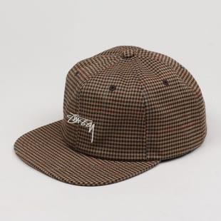 Stüssy Small Check Strapback Cap