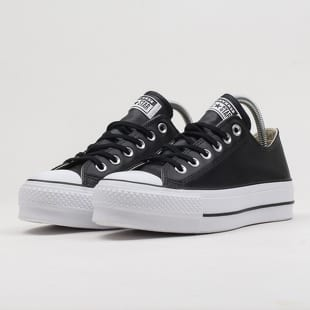 Converse Chuck Taylor All Star Lift Clean OX black / black / white