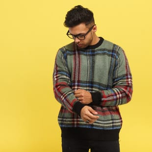 Stüssy Plaid Mohair Sweater