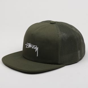 Stüssy Stock Foam Twill Trucker Cap