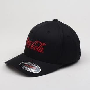 Yupoong Coca Cola Logo Flex Fit Cap