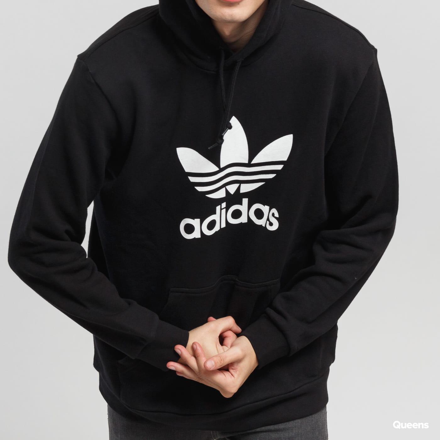 adidas Originals Trefoil Hoodie schwarz