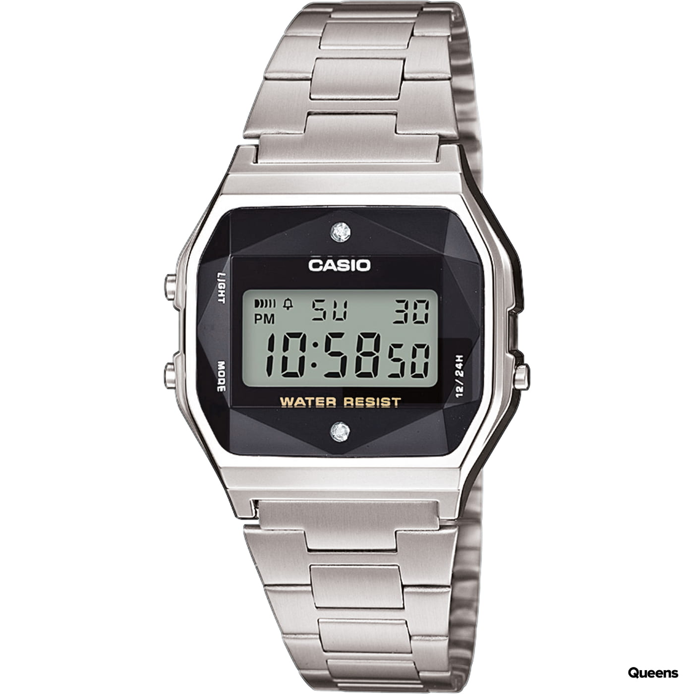 Casio A 158WEAD-1EF strieborné