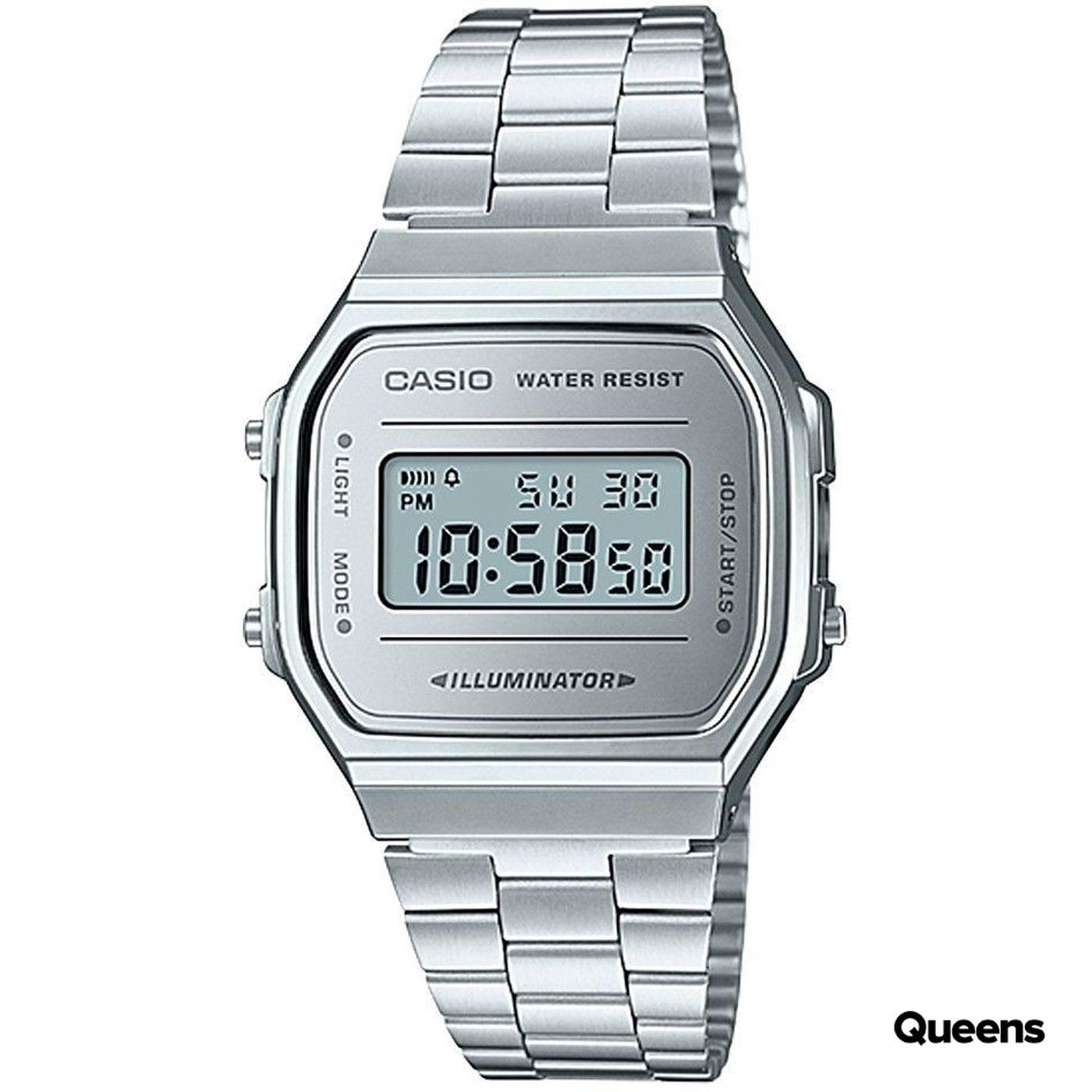 Casio A 168WEM-7EF silver