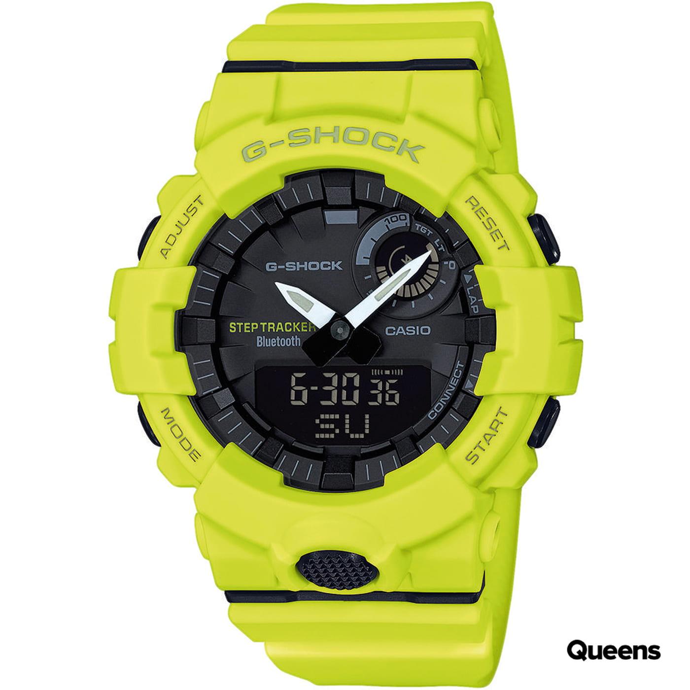 Casio G-Shock GBA 800-9AER neónovo zelené