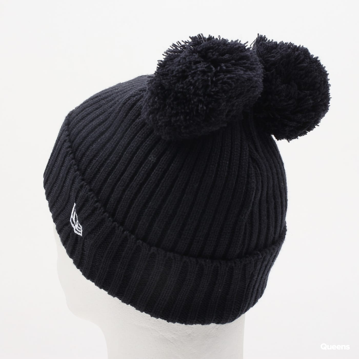 New Era Double Pom Cuff Kids NY navy