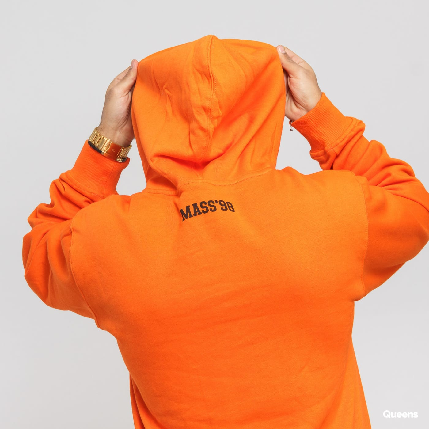 Mass DNM Campus Hoody orange