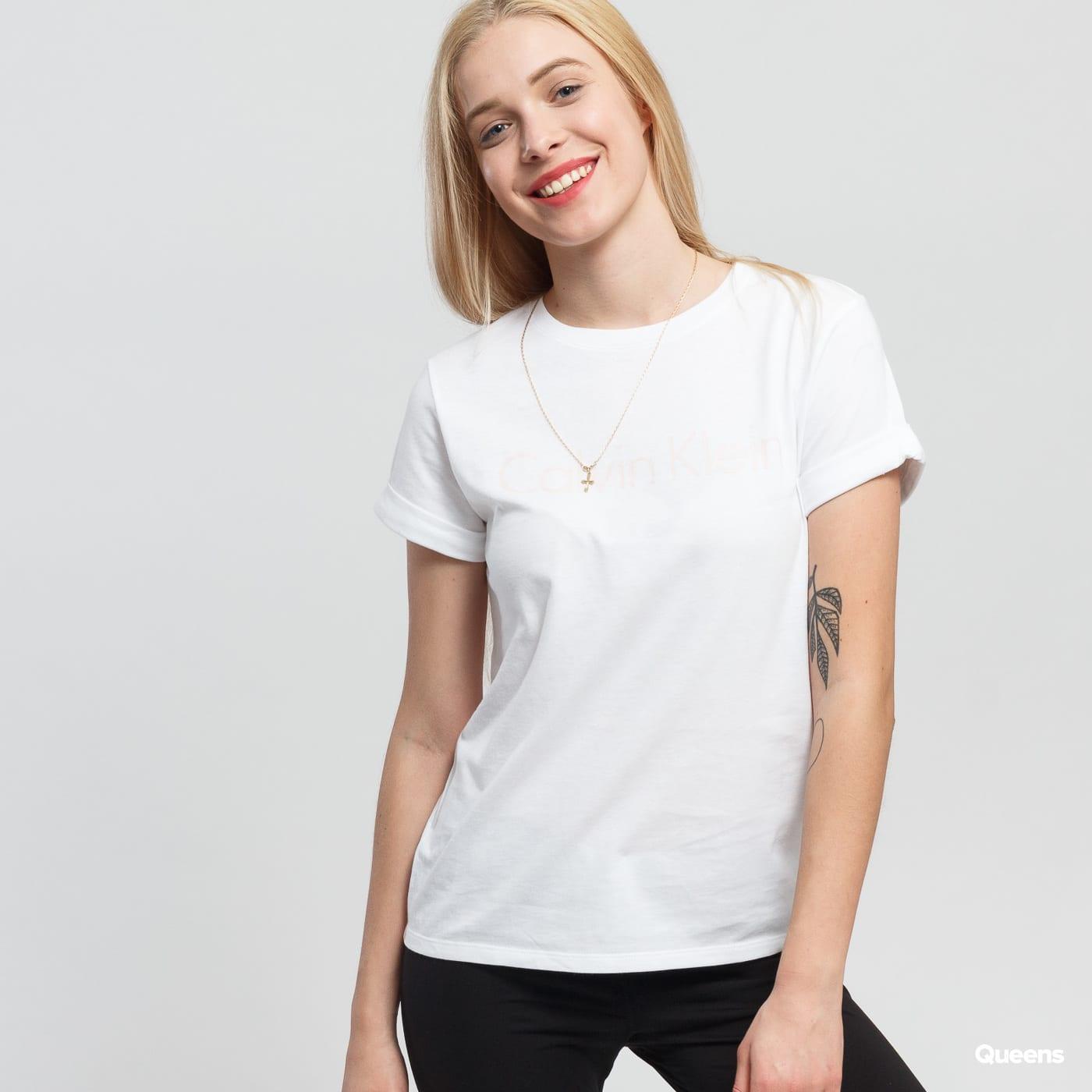Dámské tričko Calvin Klein S S Crew Neck (QS5789E-YN3) – Queens 💚 e593af236a