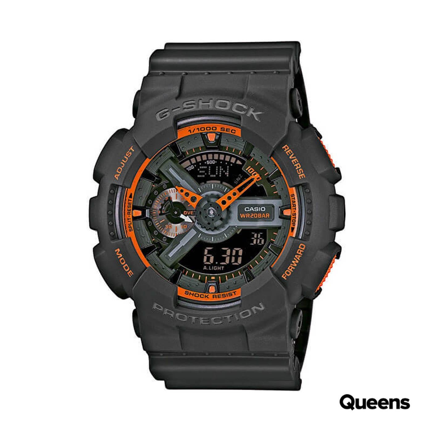 Casio G-Shock GA 110TS-1A4ER dunkelgrau