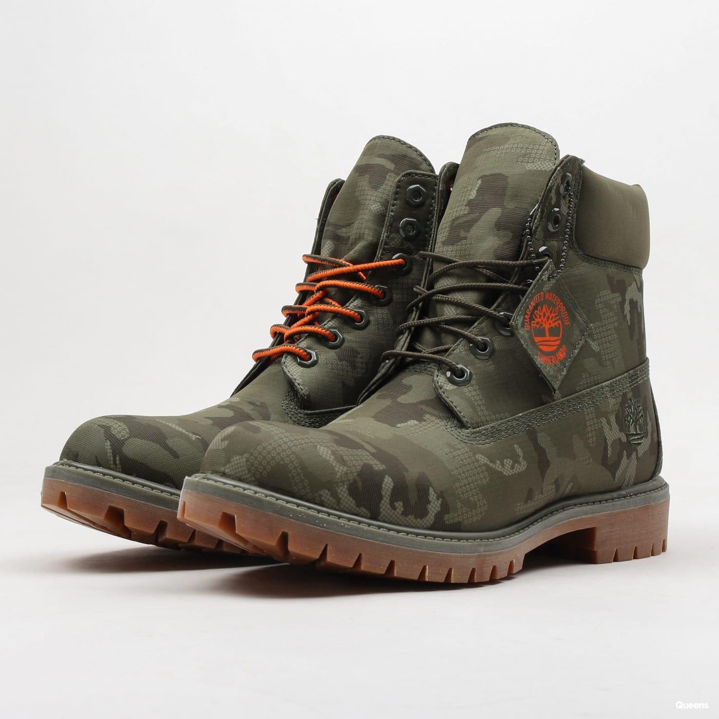959e8536c99 Pánska zimná obuv Timberland 6 Inch Premium Fabric Boot (A1U9I - GRN)–  Queens 💚