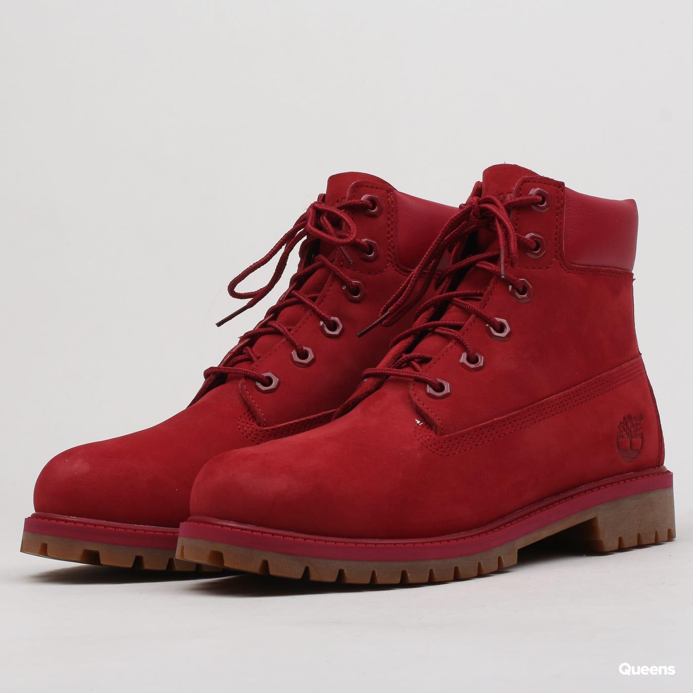 6029d181ef4 Dámské zimní boty Timberland 6 Inch Premium WP Boot (A13HV - RED) – Queens  💚