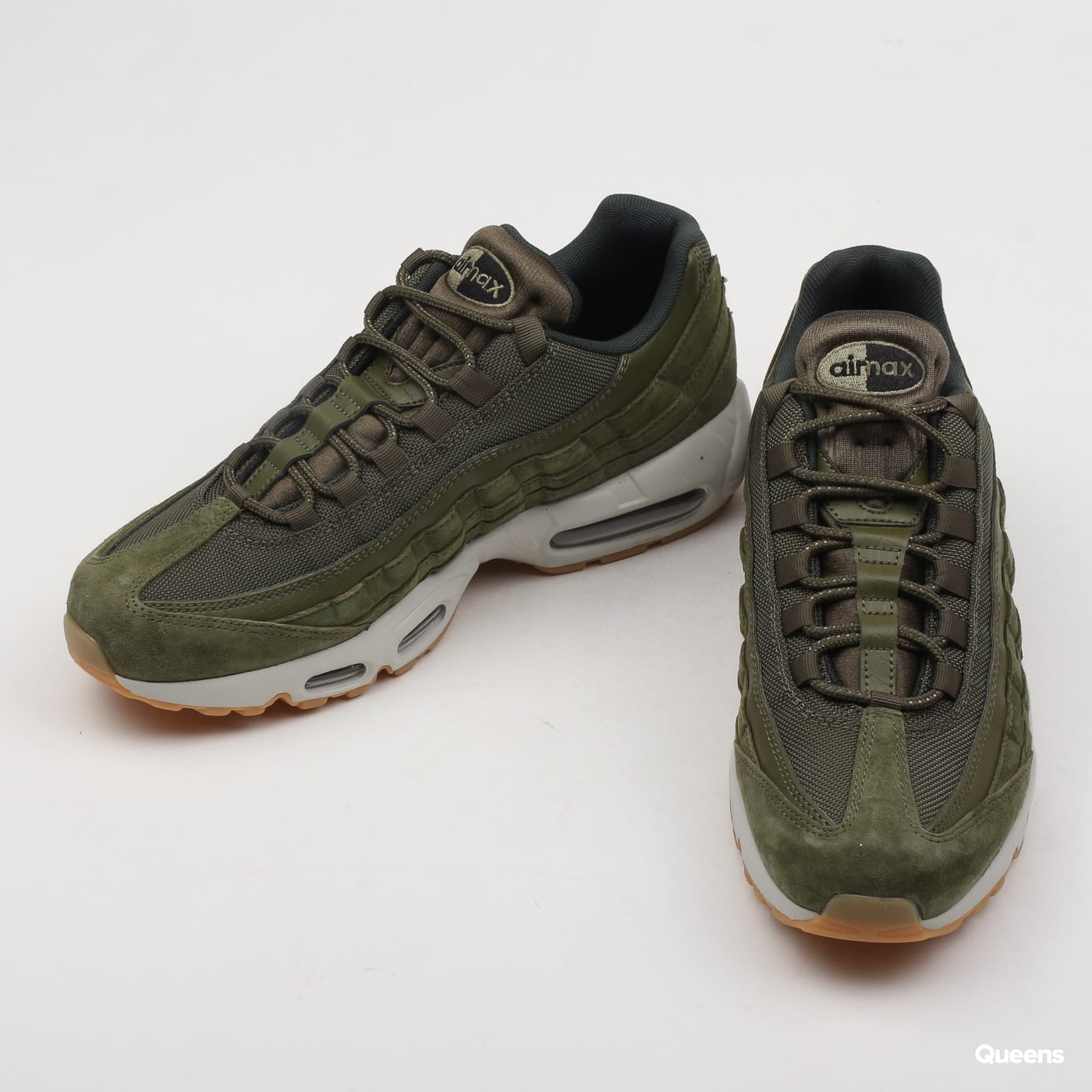b3bf16a0d5a Zoom in Zoom in Zoom in Zoom in Zoom in. Nike Air Max 95 SE olive canvas ...