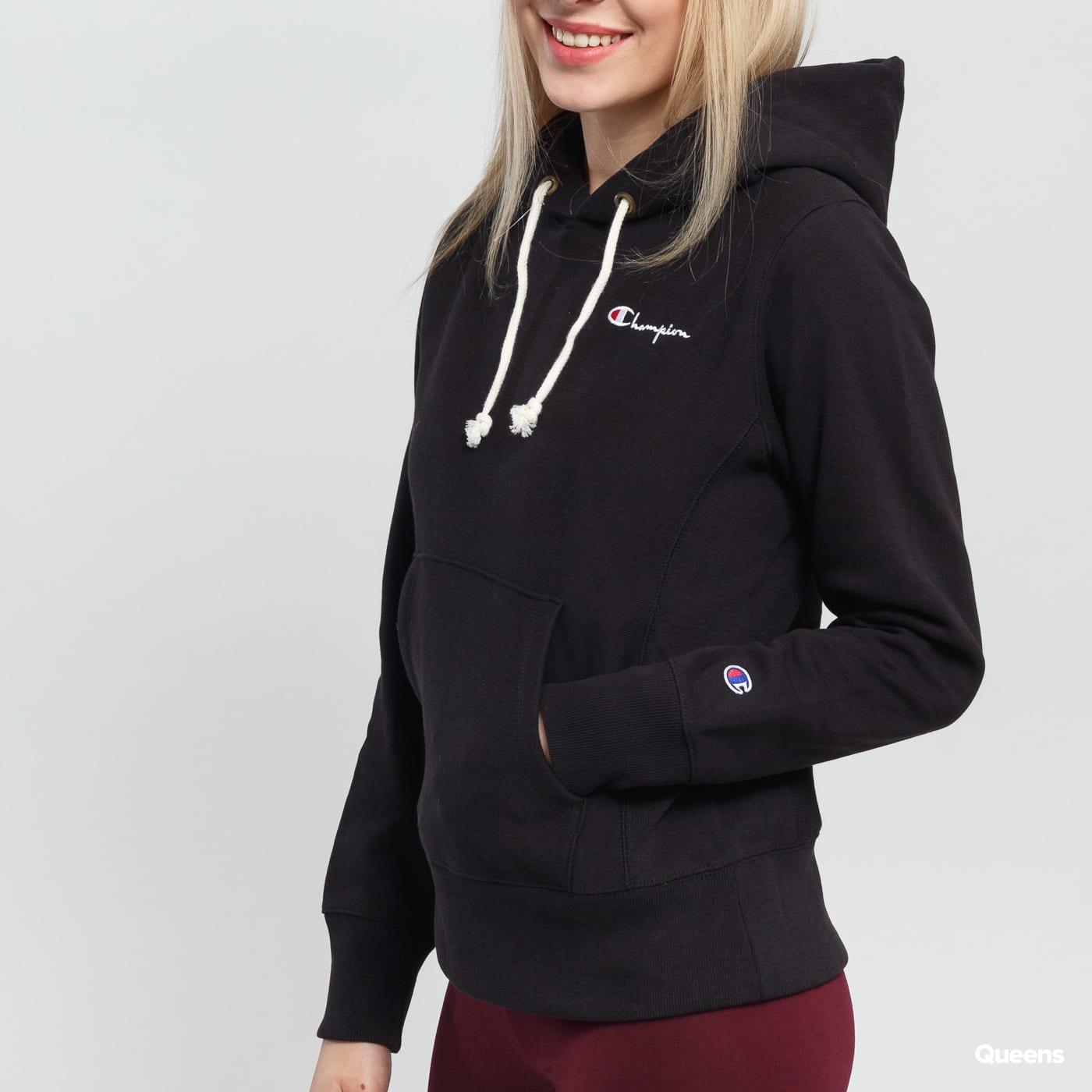 Champion Hooded Sweatshirt čierna