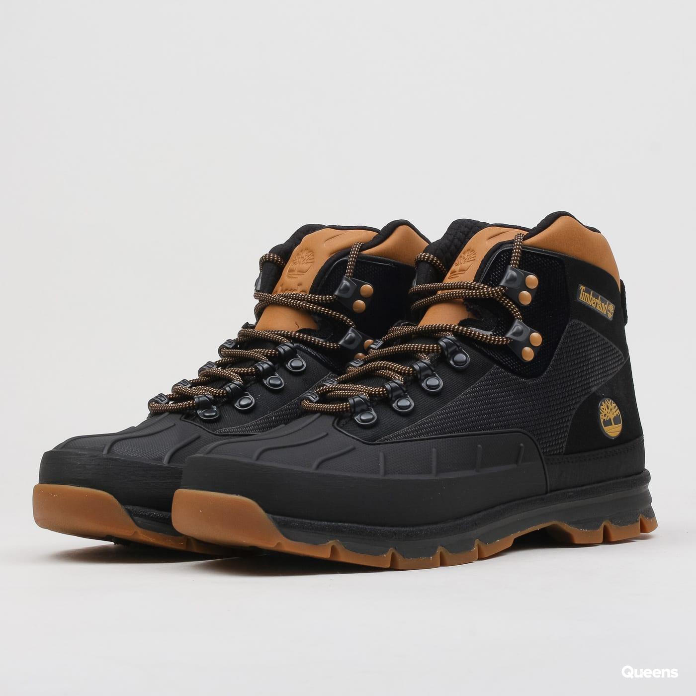 0694ffb63e1 Pánské zimní boty Timberland Euro Hiker Shell Jacquard Boot (A1QJ2 - BLK) –  Queens 💚