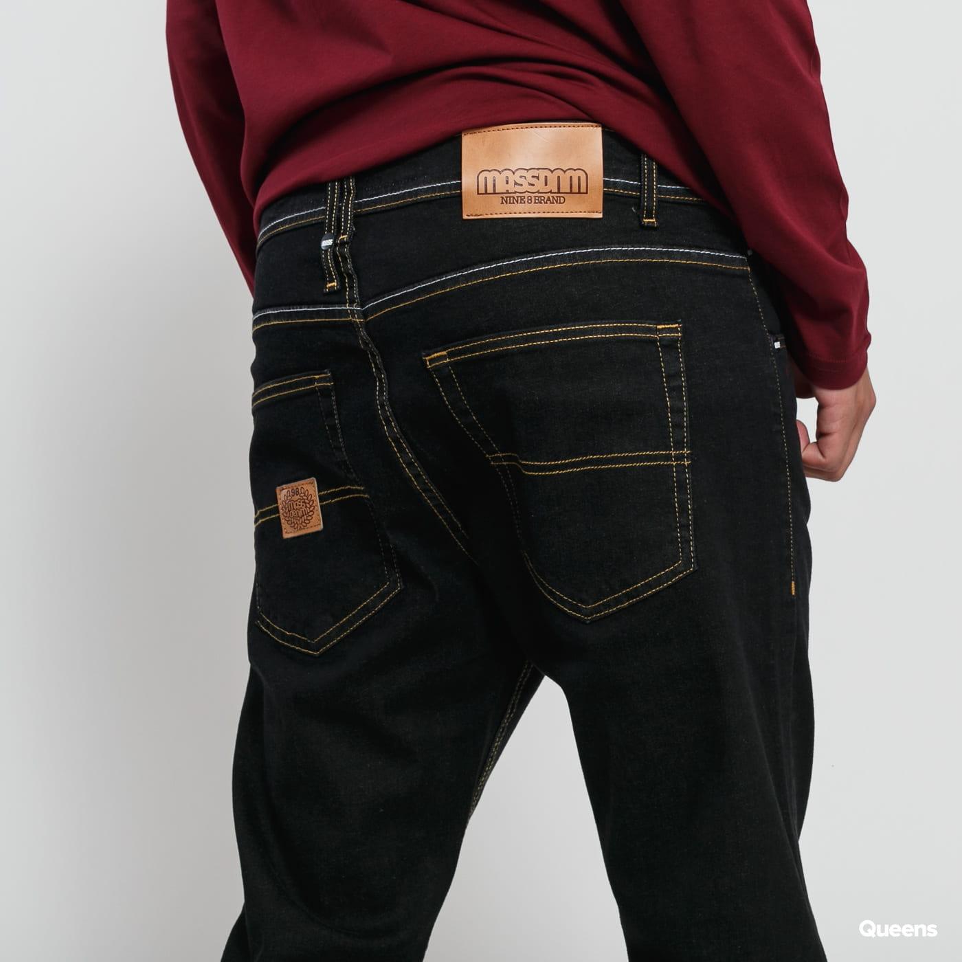 Mass DNM Base Regular Fit Jeans black rinse