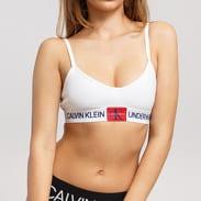 Calvin Klein Unlined Triangle bílé