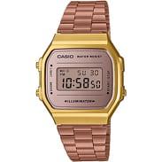 Casio A 168WECM-5EF bronze / gold