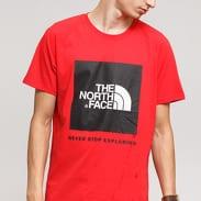 The North Face M SS Rag Red Box Tee červené