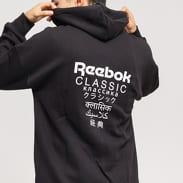 Reebok GP F Full Zip Hoodi černá