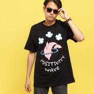 Pink Dolphin Positive Wave Tee černé