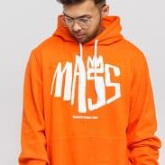 Mass DNM Crown Hoody oranžová