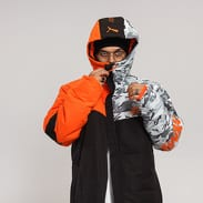 Puma Puma x ANR Outerwear černá / oranžová / camo šedá