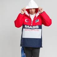 Mass DNM Meeting Jacket červená / navy / bílá