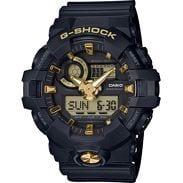 Casio G-Shock GA 710B-1A9ER černé / zlaté
