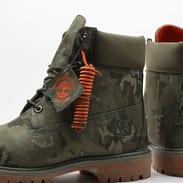Timberland 6 Inch Premium Fabric Boot dark green ripstop