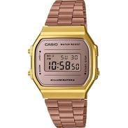 Casio A 168WECM-5EF bronzové / zlaté