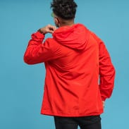 Champion Reverse Weave Hooded Jacket tmavě oranžová