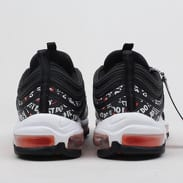 Nike Air Max 97 black / black - total orange - white