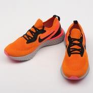 Nike Epic React Flyknit copper flash / black