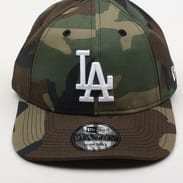 New Era 920 MLB Camo Packable LA camo zelená / olivová