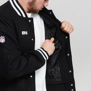 New Era NFL Team Apparel Bomber Raiders černá