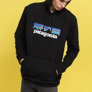 Patagonia M's P6 Logo Uprisal Hoody schwarz