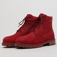 Timberland 6 Inch Premium WP Boot red