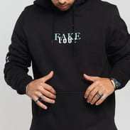 Urban Classics Rose Fake Love Hoody schwarz
