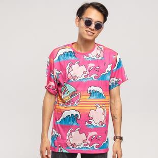 Pink Dolphin Summer Splash Tee
