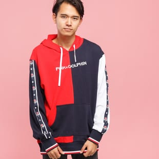 Pink Dolphin Star & Waves Hoodie