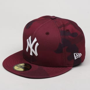New Era 5950 MLB Essential Camo Color NY