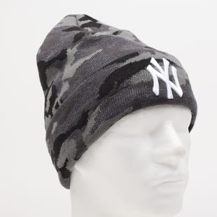 New Era Essential Camo Knit NY