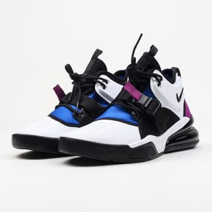 low cost 9a681 40f49 Nike Air Force 270 white   black - lyon blue