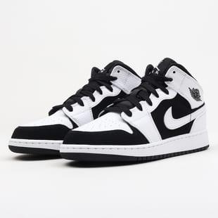 best sneakers b6cd2 b4764 Jordan Air Jordan 1 Mid (GS) white / black - white