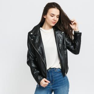 Urban Classics Ladies Faux Leather Biker Jacket