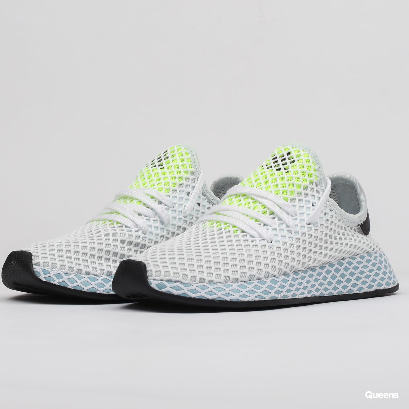 81e1da7e8d081 adidas Originals Deerupt Runner W blutin / ashgre / hireye (CG6094) –  Queens 💚