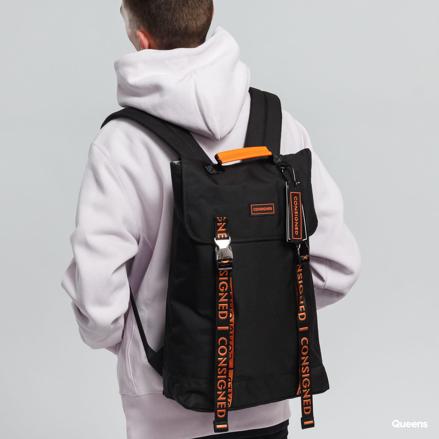 CONSIGNED Zane Backpack čierny