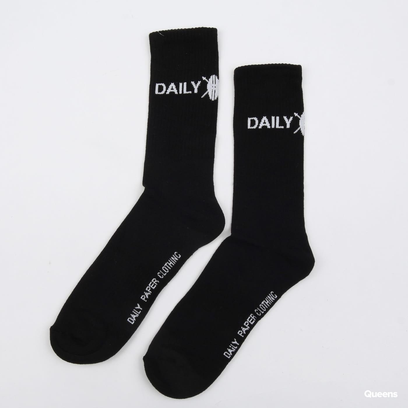 Daily Paper Socks čierne